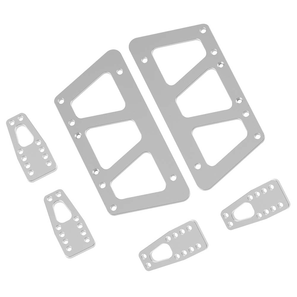 Simulate Chassis Elevation Kit for AXIAL SCX10 RC Car Spare Parts Silver