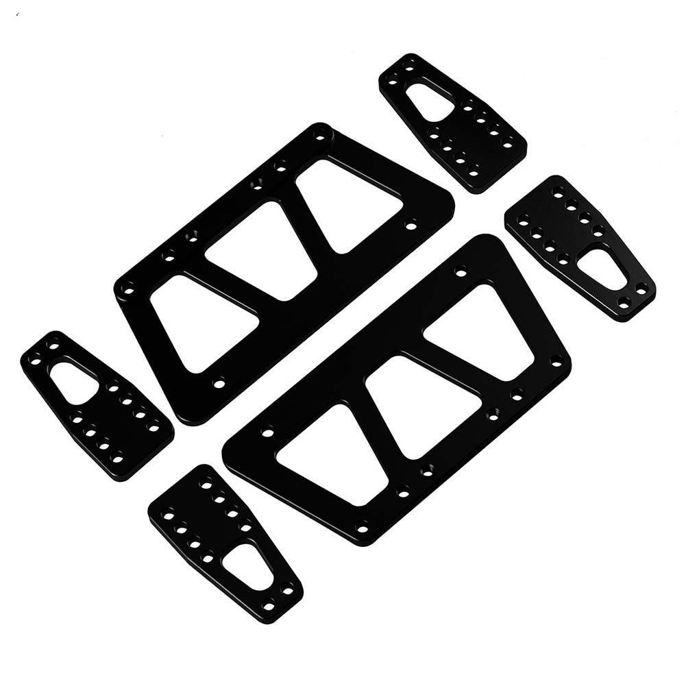 Simulate Chassis Elevation Kit for AXIAL SCX10 RC Car Spare Parts black