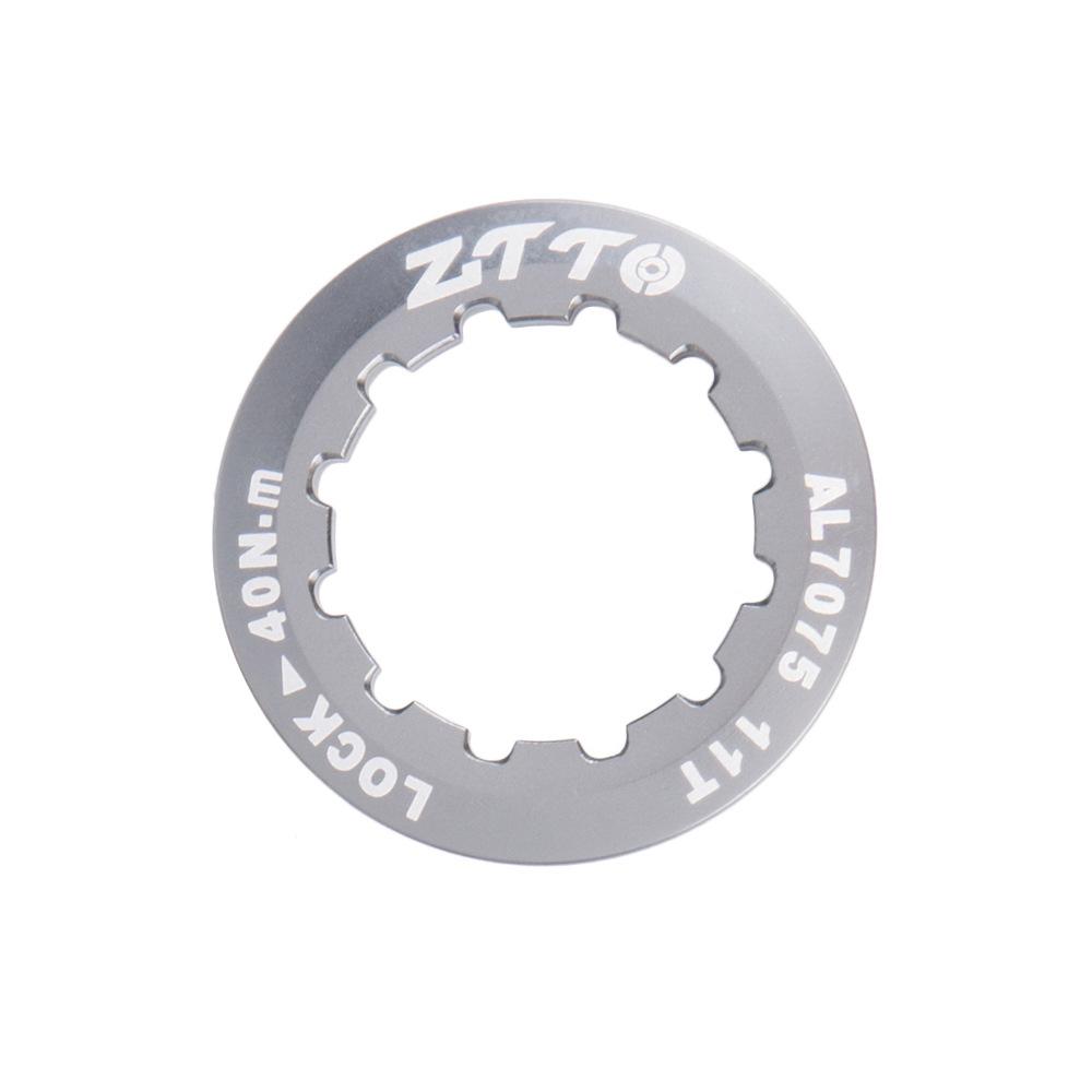 ZTTO Flywheel Cover Ultra Light 7075 Aluminum Alloy Flywheel Cover Mountain Bike Road Bike Flywheel Locking Cover Ring Titanium