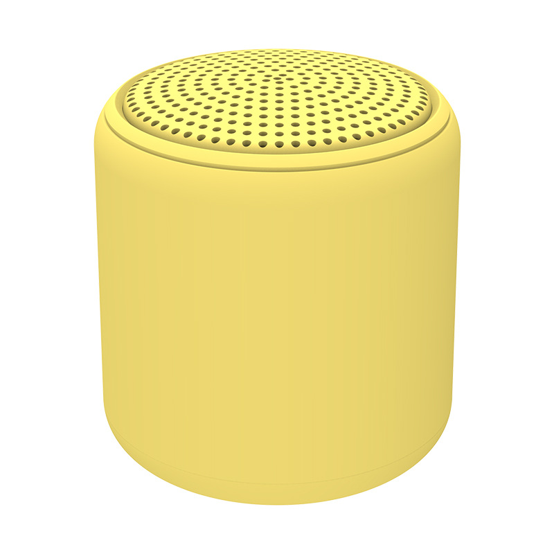 Portable Bluetooth Speaker Mini Wireless Stereo Handsfree Music Box for All Smartphones Computer wit yellow