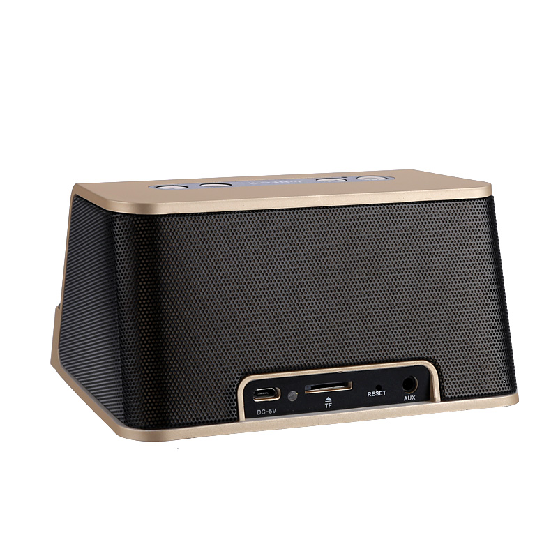 Bluetooth Speaker - 1200mAh, NFC, Built-In Mic, 10m Range, AUX Interface, 2x 3W speakers, 8GB SD Card Slot
