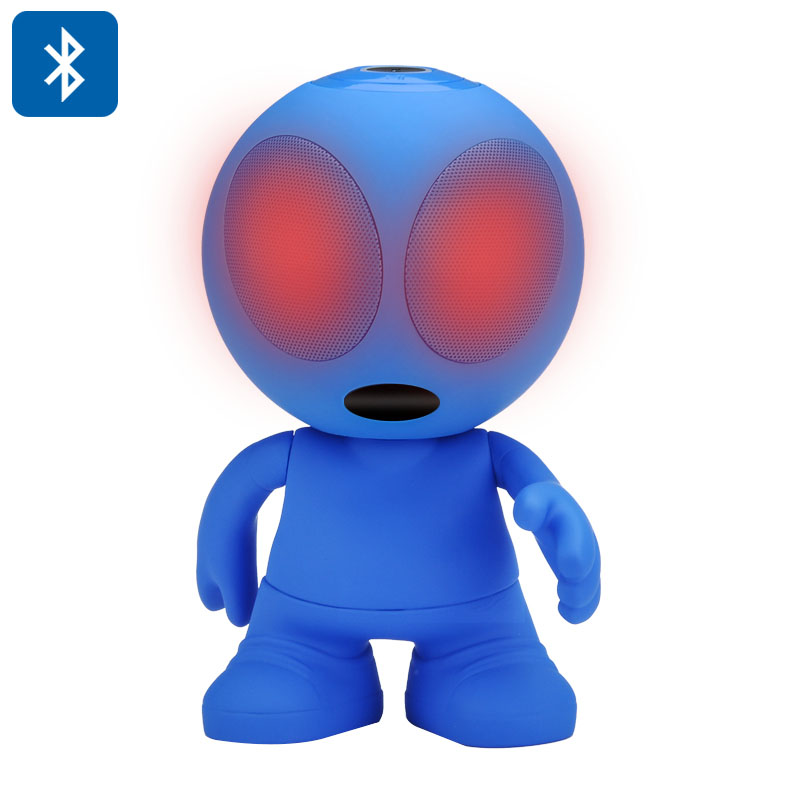 LED Light Alien Bluetooth Speaker (Blue)