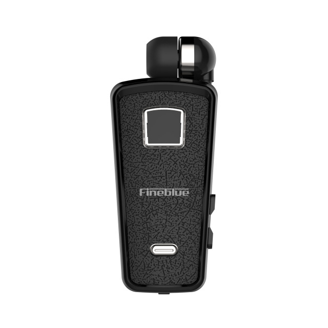 F986 Bluetooth Earphone In-Ear Handsfree Headphone with Microphone Mini Wireless Headset Vibration to Remind black