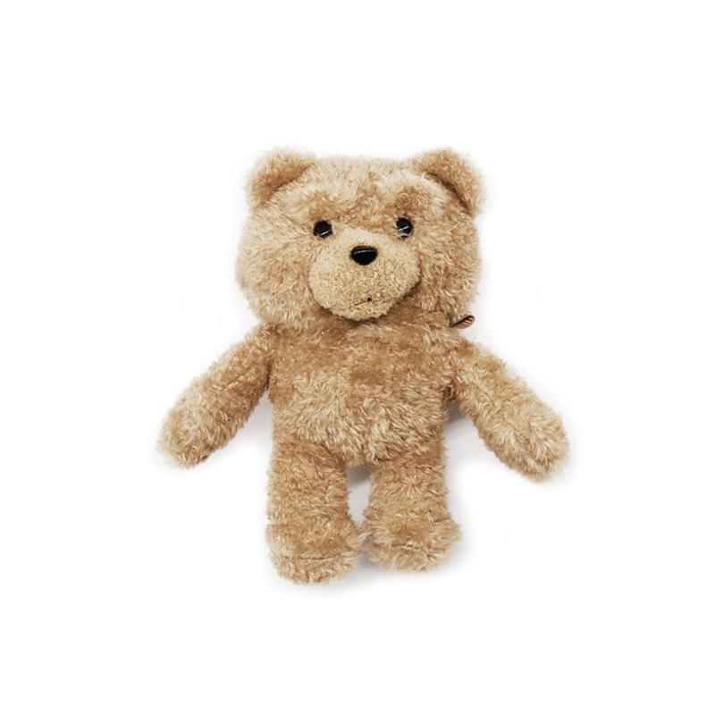 Fluffy Bear Headset Sleeve Soft Fur Furry Bluetooth Headset Cover Case Wireless Charging Box  Plush doll teddy bear + hook