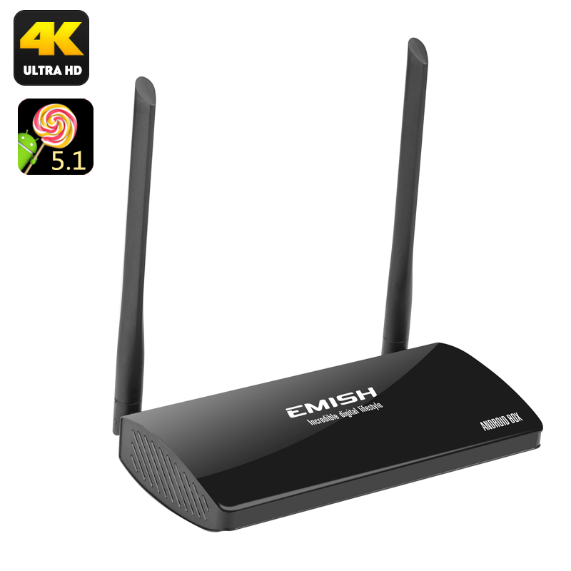 EMISH Android 5.1 TV Box