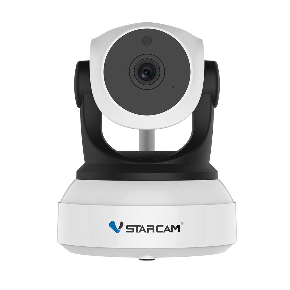 VStarcam C7824WIP P2P HD Wireless WiFi IP Camera Night Vision Two-Way Voice Network Indoor CCTV Baby Monitor Mobile Phone Remote Monitoring UK plug