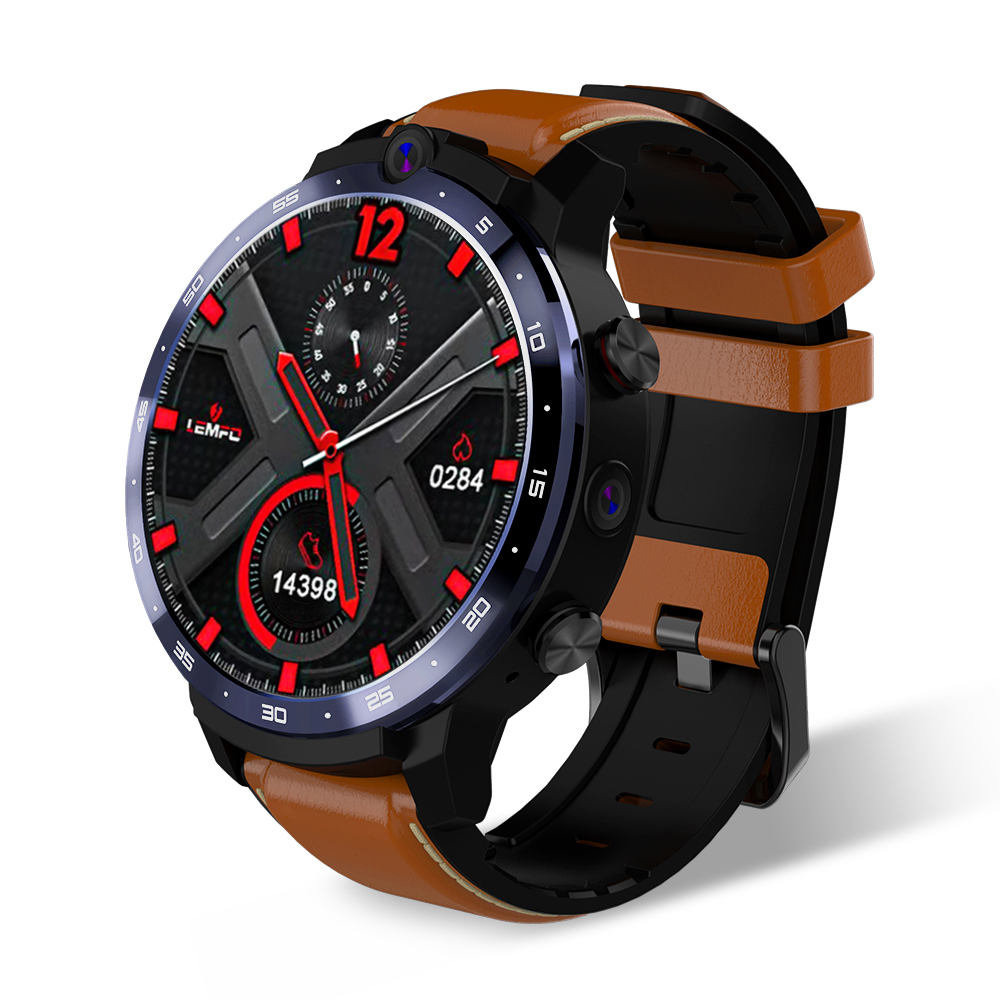Original LEMFO LEM12 3+32GB Smartwatch brown