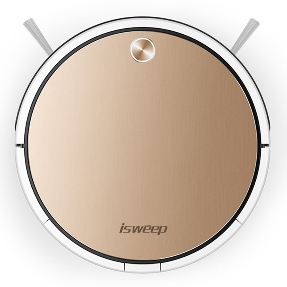 Smart Robot Vacuum Cleaner APP Control for Home Office Auto Sweeping Dirt Dust Gold