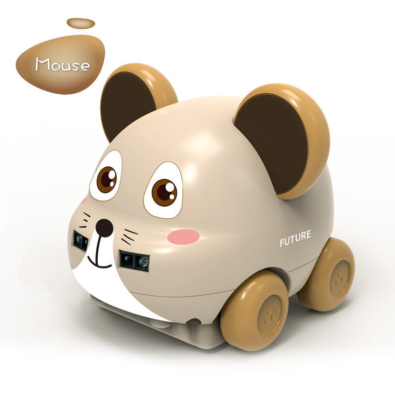Remote Control Car Toy Sensing Animal Follower Gesture Induction UK Induction for Christmas Gift Khaki