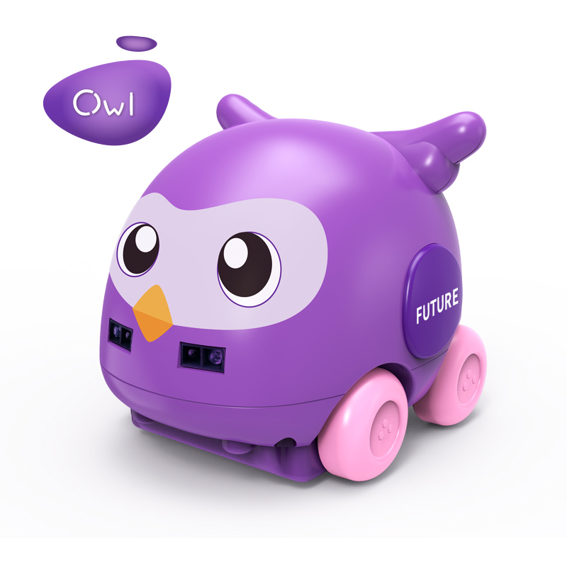 Remote Control Car Toy Sensing Animal Follower Gesture Induction UK Induction for Christmas Gift purple