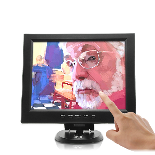 12 Inch LCD Touchscreen Monitor