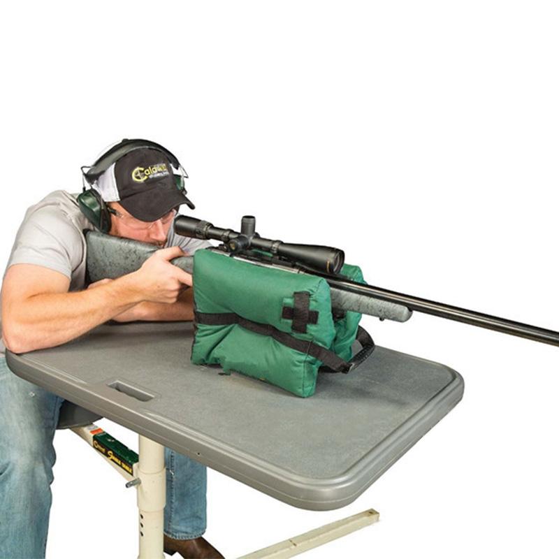 [EU Direct] Unfilled Gun Rest Shooting Rest Bag Outdoor Hunting Target Shooting Sports Gun Accessories