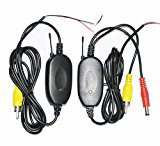 [EU Direct] WX-300 2.4GHz Wireless Video Transmitter Receiver Module for Car Rear View Reverse Backup Parking Camera Video Monitor(with Reverse Control ACC Function)