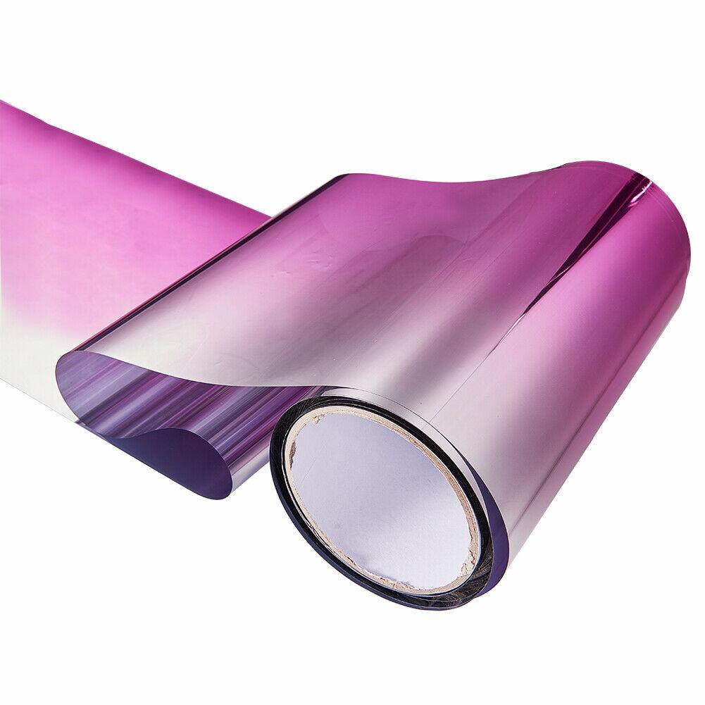 Car Front Windshield Protect Shade DIY Sticker Window Sun Visor Strip Tint Film  Pink