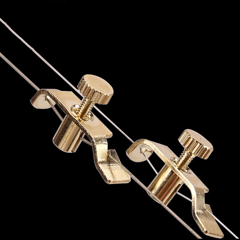 Profession Erhu Spinner Profession Metal Gold-plated Urheen Fine-tuning Music Instrument Accessories  Gold