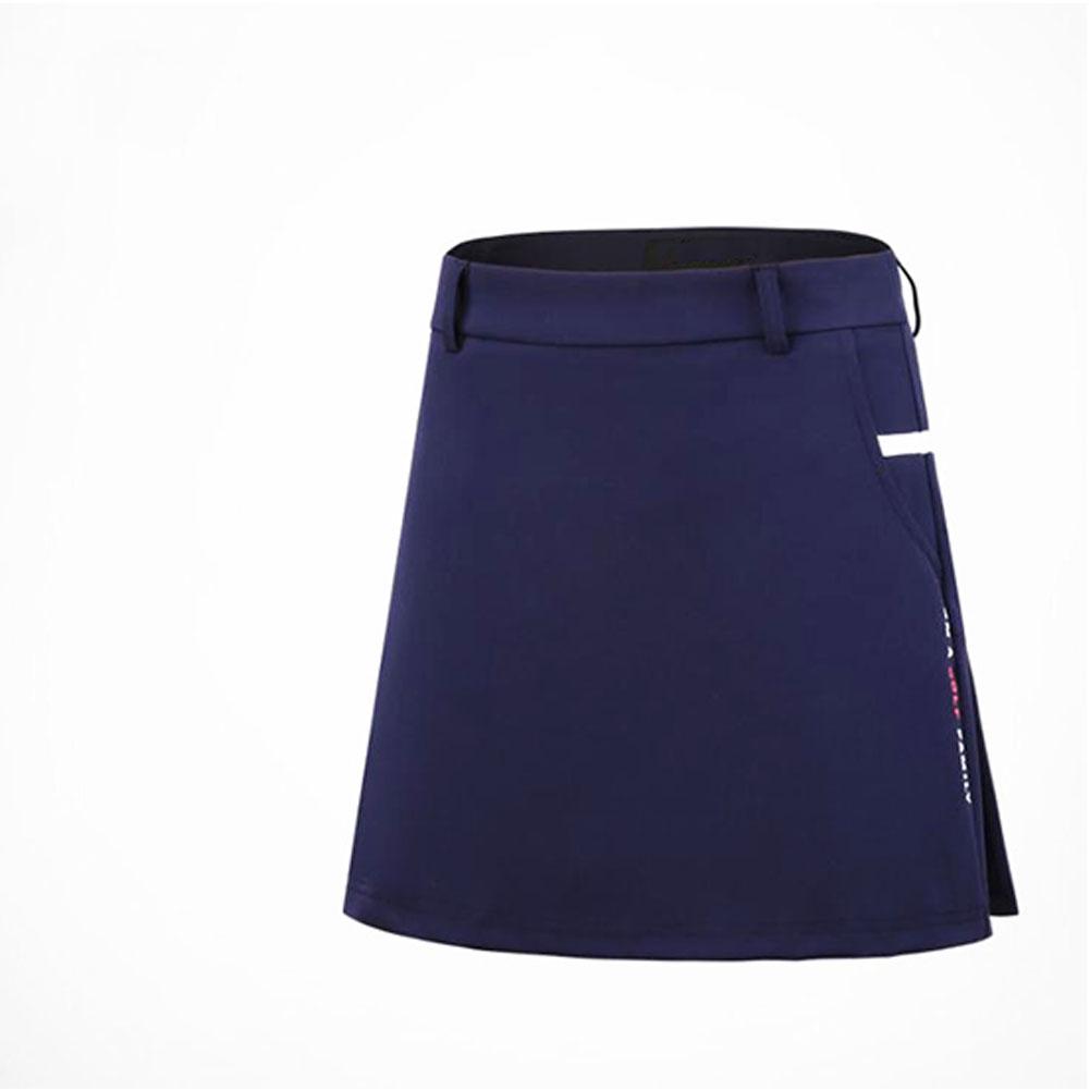 Golf Clothes Female Short Sleeve T-shirt Spring Summer Women Top and Skirt Sport Suit QZ045 skirt_XS