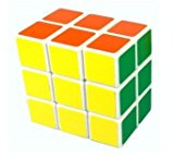 [US Direct] ThinkMax® 2x3x3 Brain Teaser Speed Cube Puzzle Magic Puzzle Cube White