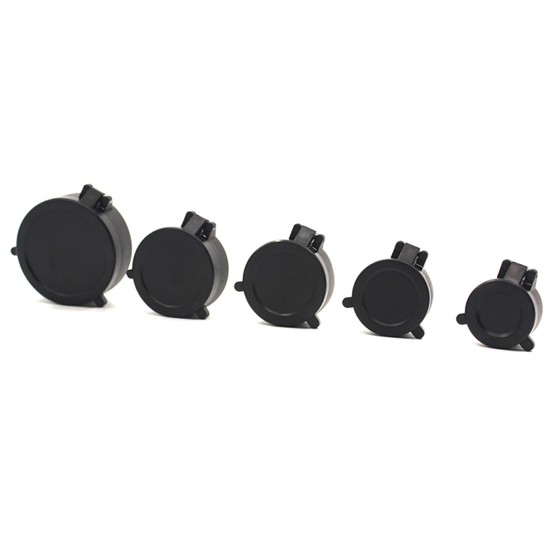 57mm Lens Defender Flip Cap Cover Eyepiece Dust-proof Scope Rifle Flip Protective Cap Hunting Accessories