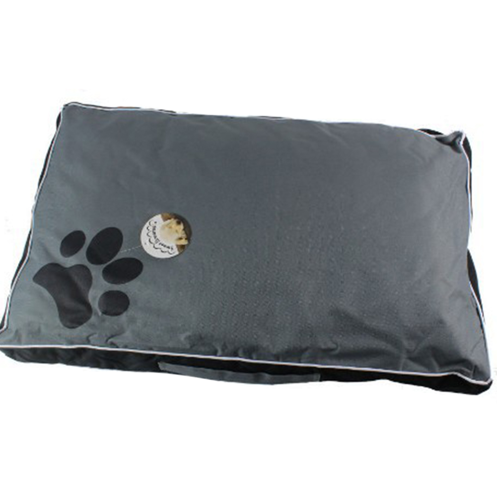 Summer Waterproof Removable Cover Pet Sleepling Cushion for Dogs black_85X55X8CM