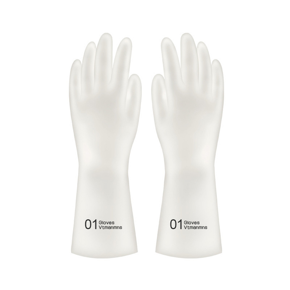1Pair Kitchen Cleaning Gloves Waterproof Dishwashing Glove Cleaning Rubber Tools Kitchen Accessories 01_L