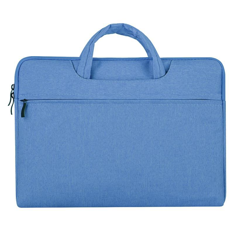 Portable Storage Bag Oxford Cloth Laptop Bag Waterproof Protective Storage Bag blue_15.6 inches