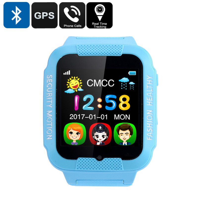 Kids GPS Watch (Blue)