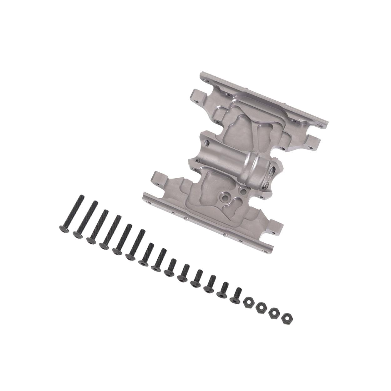1/10 CNC Alloy Gear Box Mount Holder for 1/10 Rc Crawlers Axial SCX10 D90 D110 Titanium