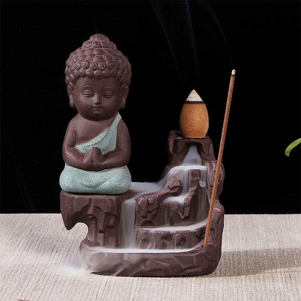 The Little Monk Backflow Incense Burner
