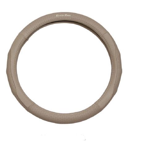 Leather Auto Car Steering Wheel Cover Durable Non-slip Cover Fit Diameter 36cm 38cm 40cm