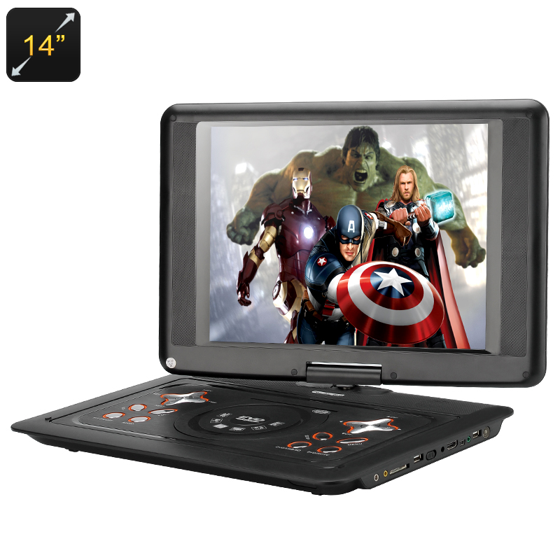 14 Inch Portable DVD Player