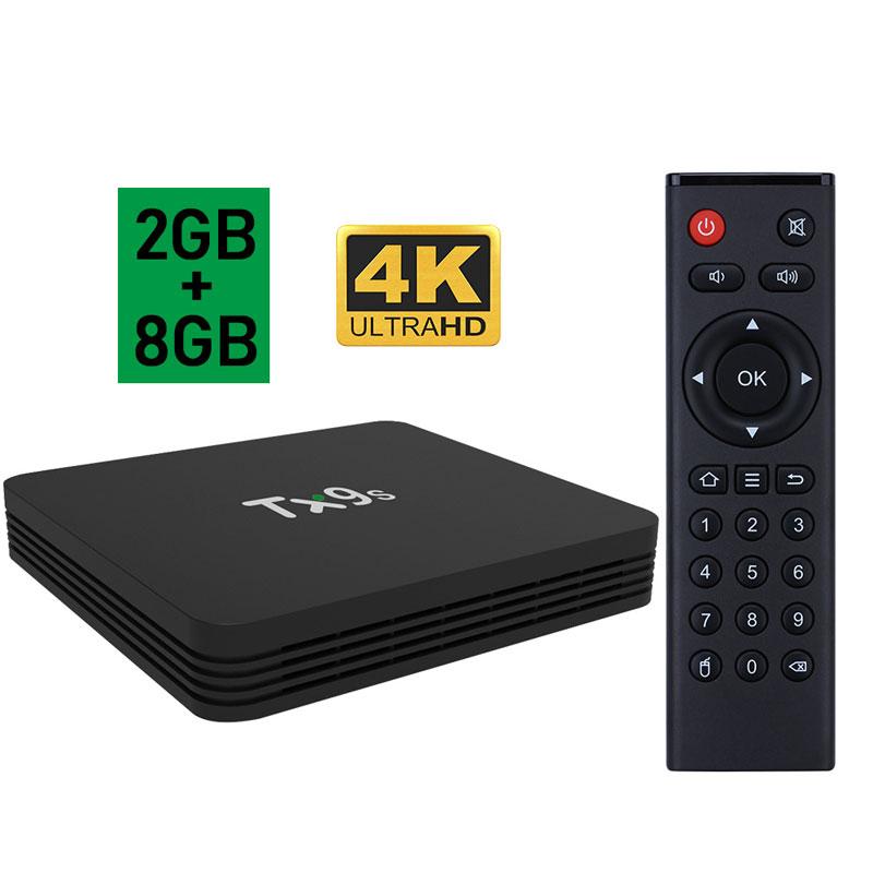 TV Box TX9s Amlogic S912 4K IPTV Google Voice Assistant Media Player Android 9.0 TV Box Netflix 2GB 8GB set top TV Box British regulatory