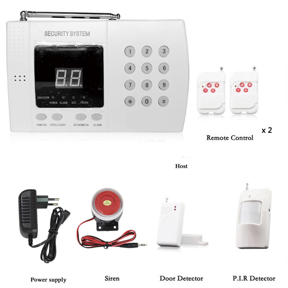 99 Ways Wireless GSM Alarm System Household Infrared Alarm UK plug