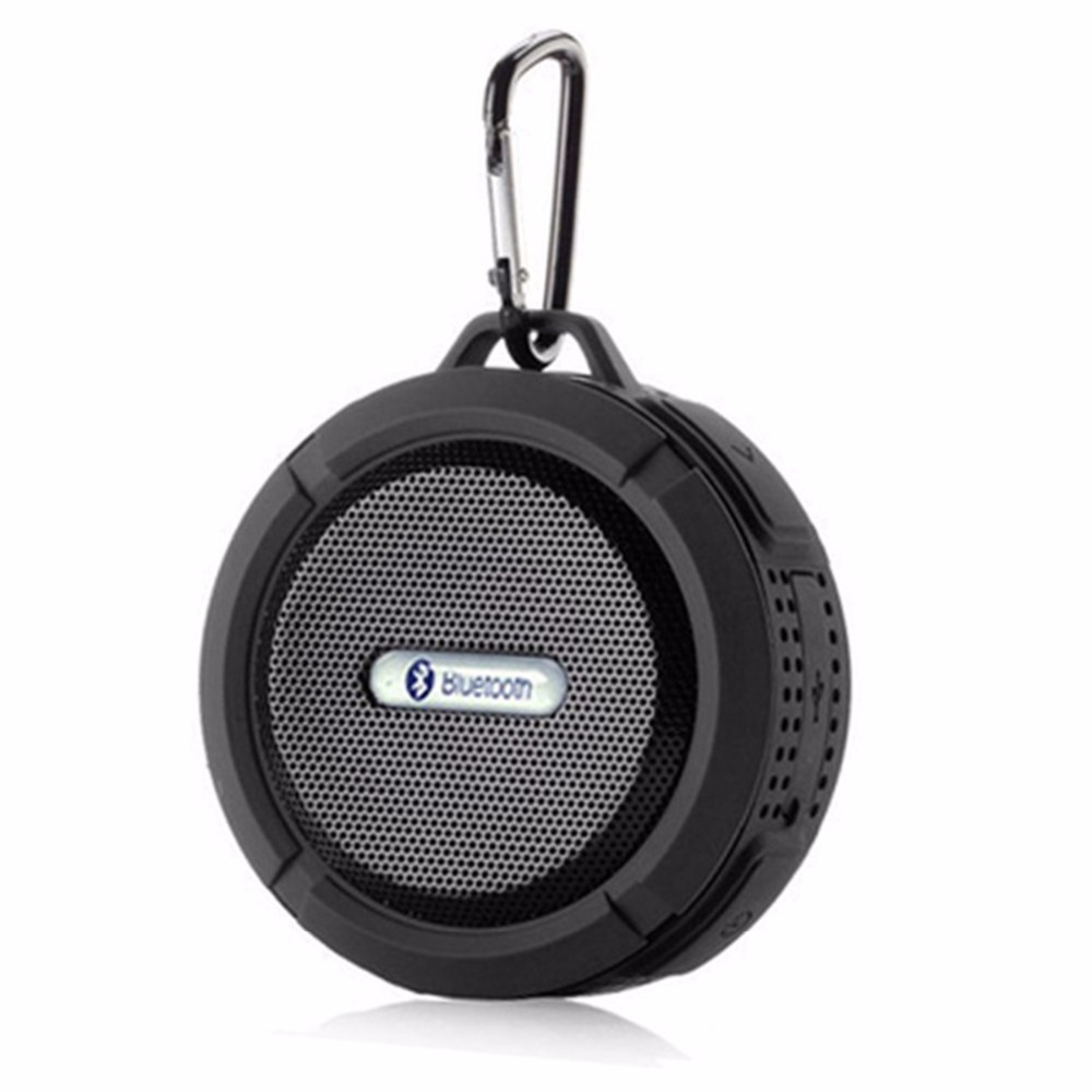 C6 Outdoor Wireless Bluetooth Speaker - Black