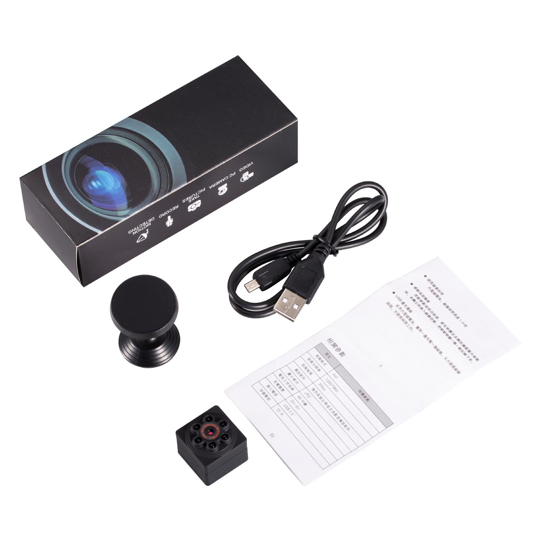 S1000 Mini Camera HD 1080P Sensor Night Vision Camcorder Motion DVR Micro Camera Sport DV black