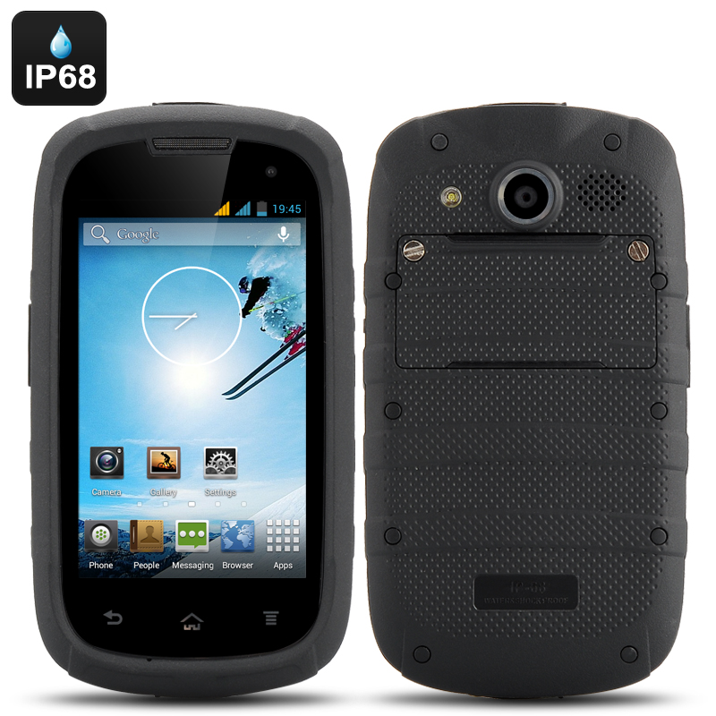 4 Inch Android 4.2 Rugged Phone