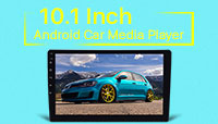 2 DIN 10.1 Inch Android Car Media Player
