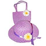 [EU Direct] Tea Party Hat & Purse Set (More Colors...) Select Color: purple