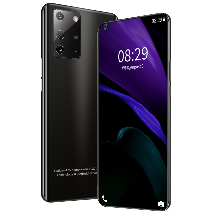 Note23 Pro+ 6.82 inch Hd large-screen smart phones RAM2GB+ 16GB ROM Android 5.1 Bluetooth 5.0 black_U.S. plug