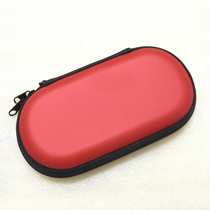 Game Carry Case Protector Bag Waterproof Shockproof Box for  Vita 2000 red