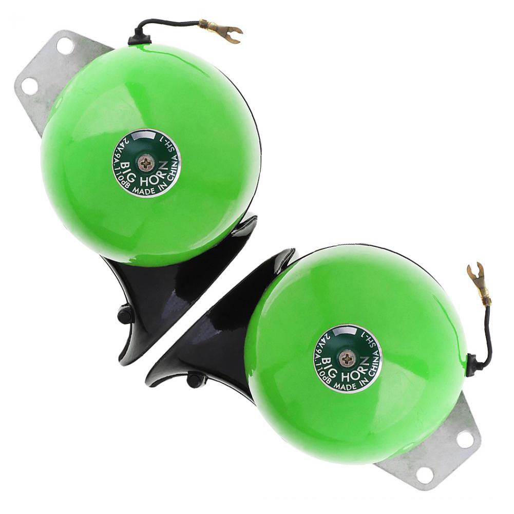 Waterproof Car Horn Green Snail Waterproof Signal Horn Car Horns Signal green