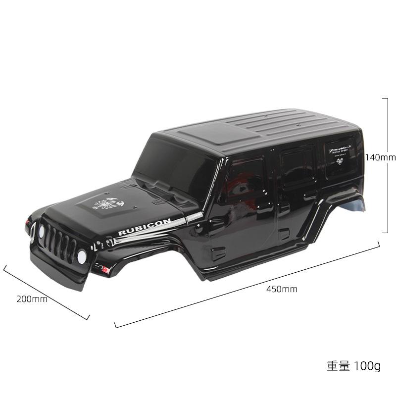 Simulation Shepherd Car  Shell Diy Modified Model Accessories For 313-wheelbase Chassis R672BL 313 wheelbase black car shell