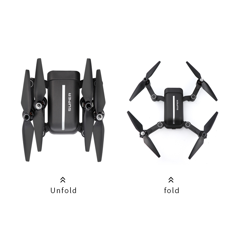 Drone GPS 2020 New X28 WIFI FPV Mini Drone with Wide Angle HD 4K Camera Hight Hold Mode RC Foldable Quadcopter Drone Gift Storage Box