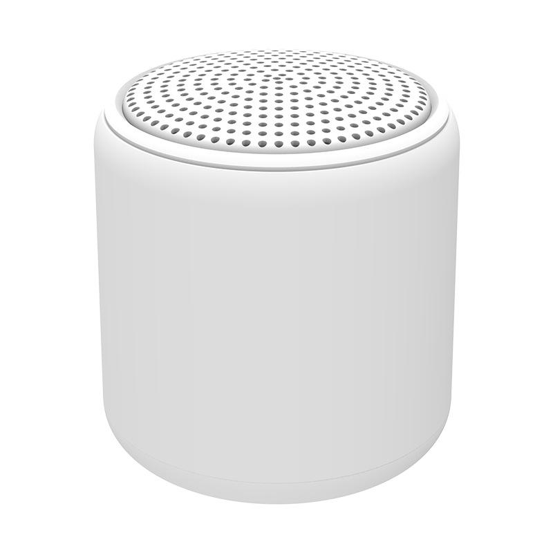 Portable Bluetooth Speaker Mini Wireless Stereo Handsfree Music Box for All Smartphones Computer wit white
