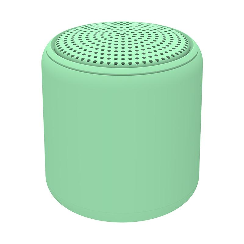 Portable Bluetooth Speaker Mini Wireless Stereo Handsfree Music Box for All Smartphones Computer wit green