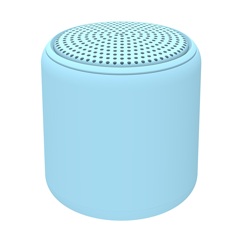 Portable Bluetooth Speaker Mini Wireless Stereo Handsfree Music Box for All Smartphones Computer wit blue