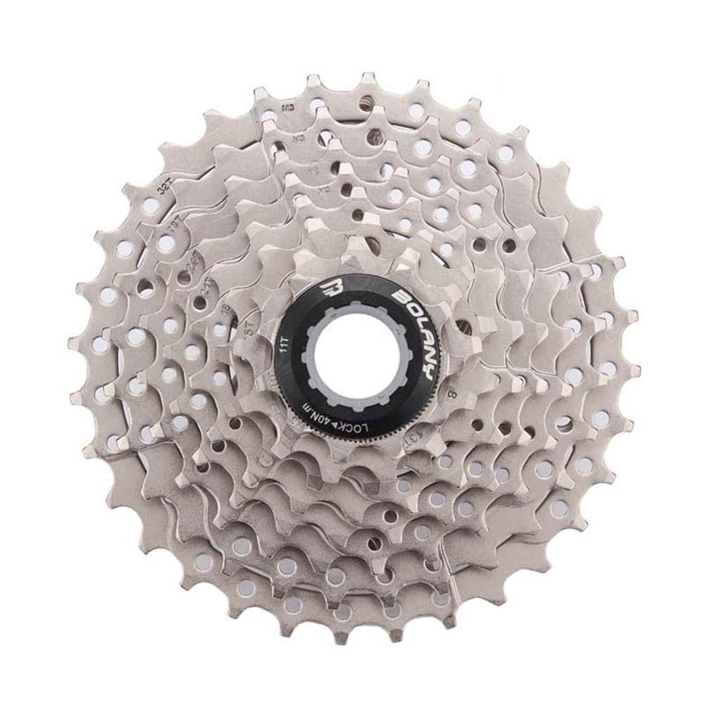 MTB Bike Freewheel 8S/9S 25 28 32 40 42T MTB Mountain Bike Flywheel 8 9 Speed Cassette Sprocket Silver_8 speed 32T