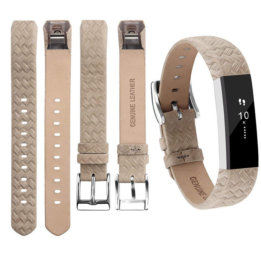 For Fitbit Alta Watch Band Wrist Strap Color Intelligent Heart Rate Replacement Watch Band Woven gray