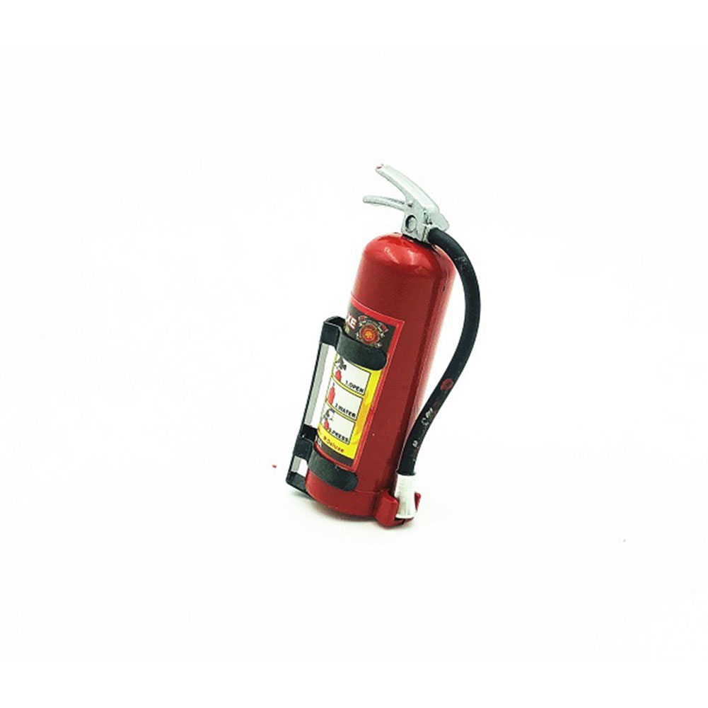 1/10 RC Crawler Accessory Parts Fire Extinguisher Model for RC CAR  AXIAL SCX10 TRX4 D90 CC01  red