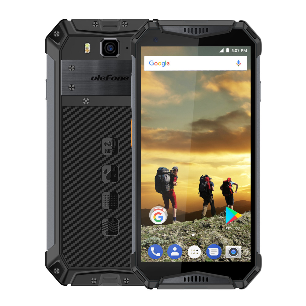 Ulefone Armor 3 4+64GB Rugged Phone - Black