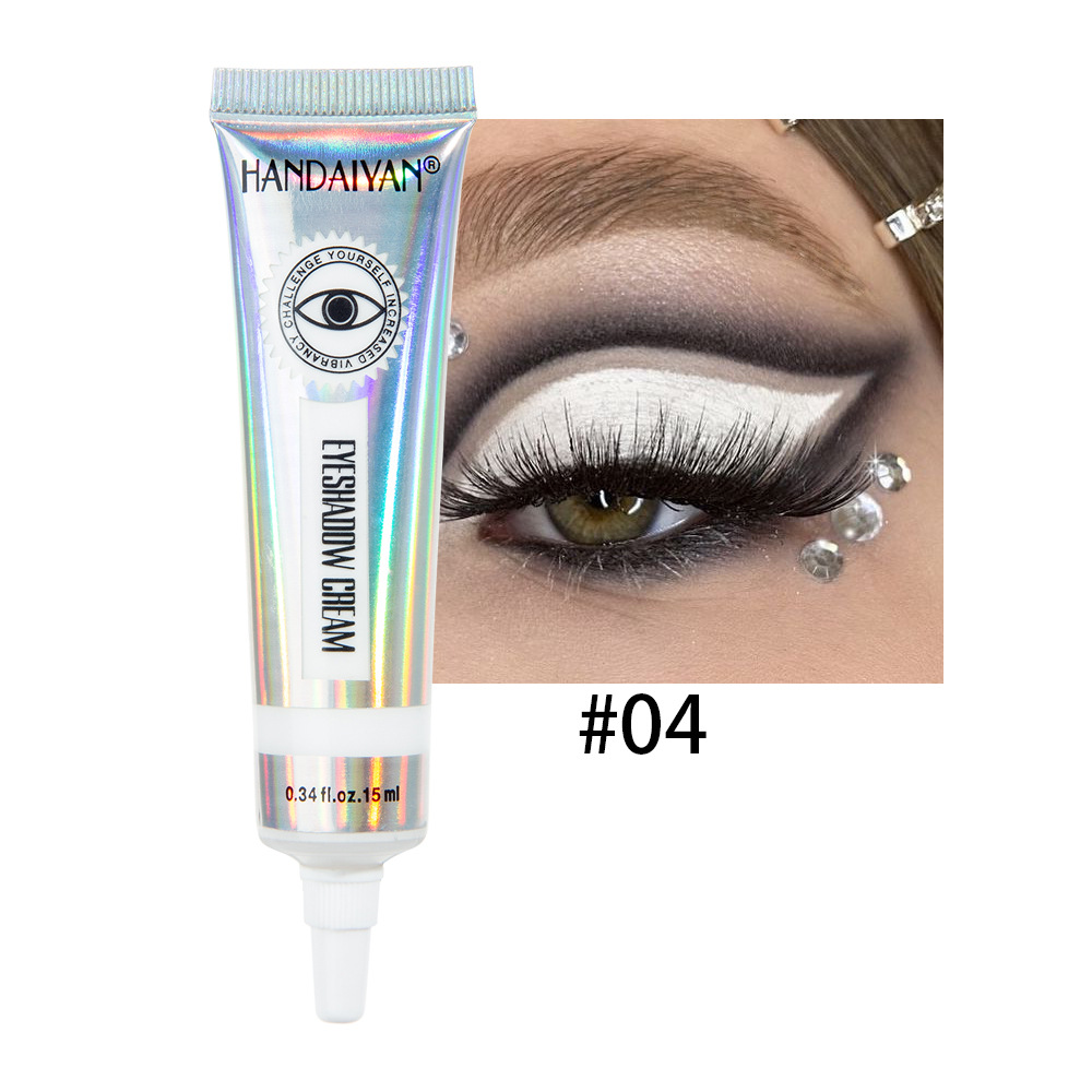 Universal 12 Colors Matte Eyeshadow Lasting Eye Shadow Cream for Women 4#